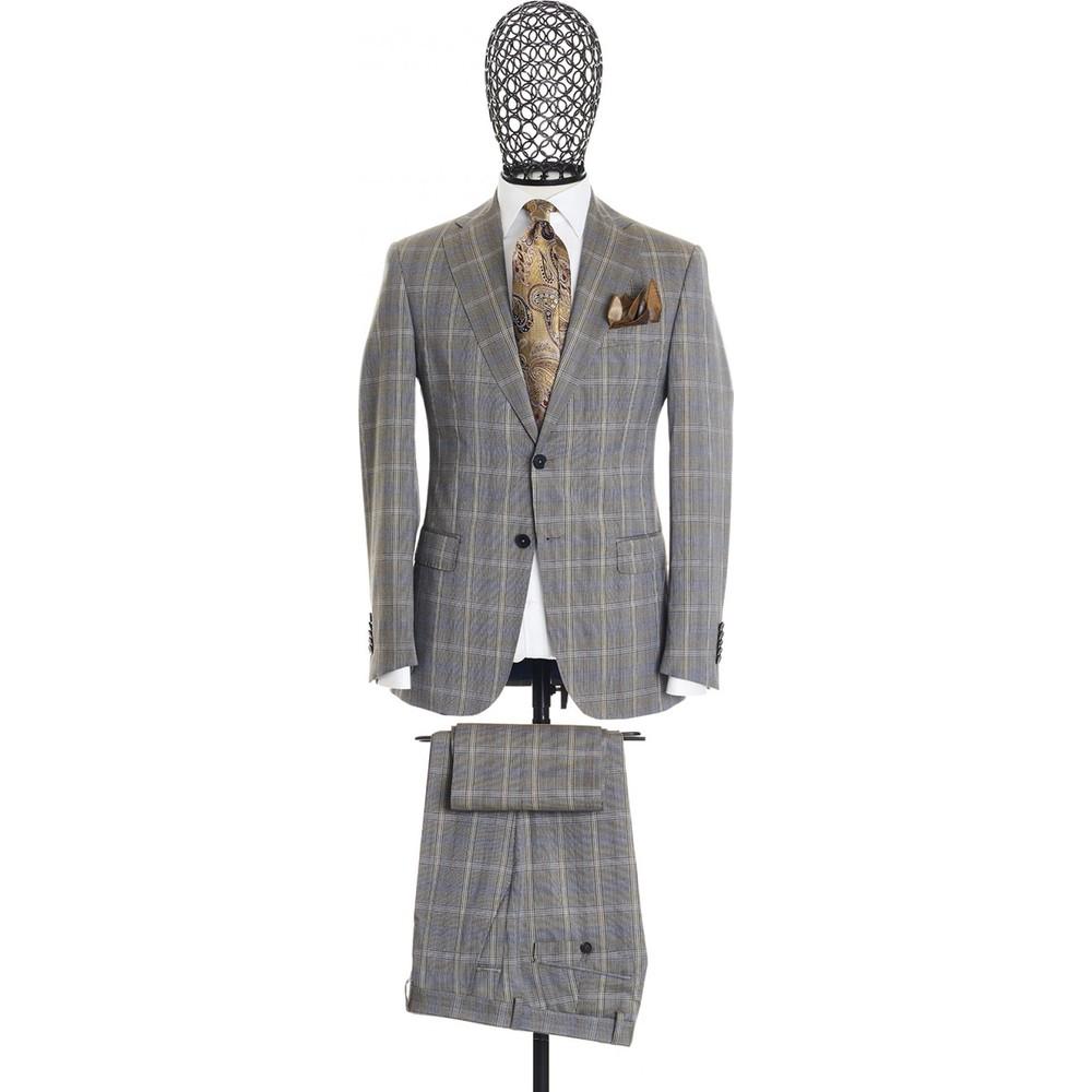 Giovane Gentile Erkek Takım Elbise Taş